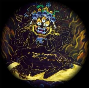 Mahakala by Karmapaklein