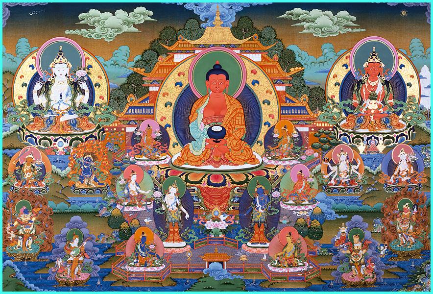 Amitabha-Retreat mit Bardo-Puja