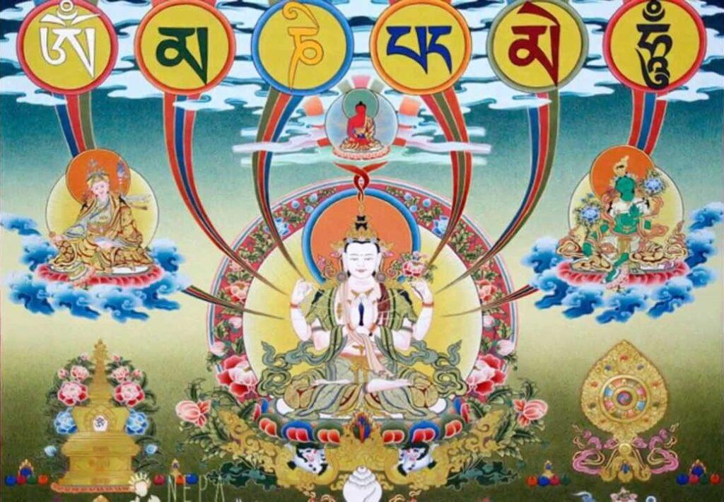 Zoom - Chenrezig-Puja mit Lama Kunga